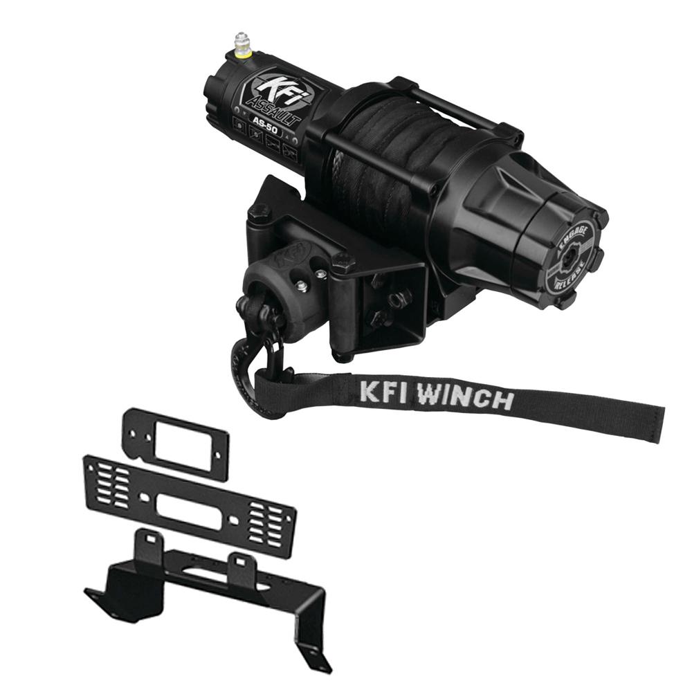 New KFI 2500 lb Winch /& Mount 2015-2016 Polaris Sportsman X2 570 ATV