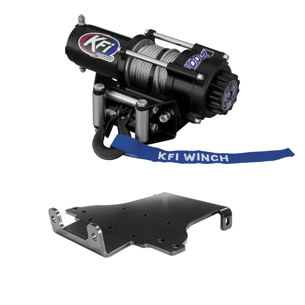 2005-2006 Honda Foreman and Rubicon KFI Winch Mount