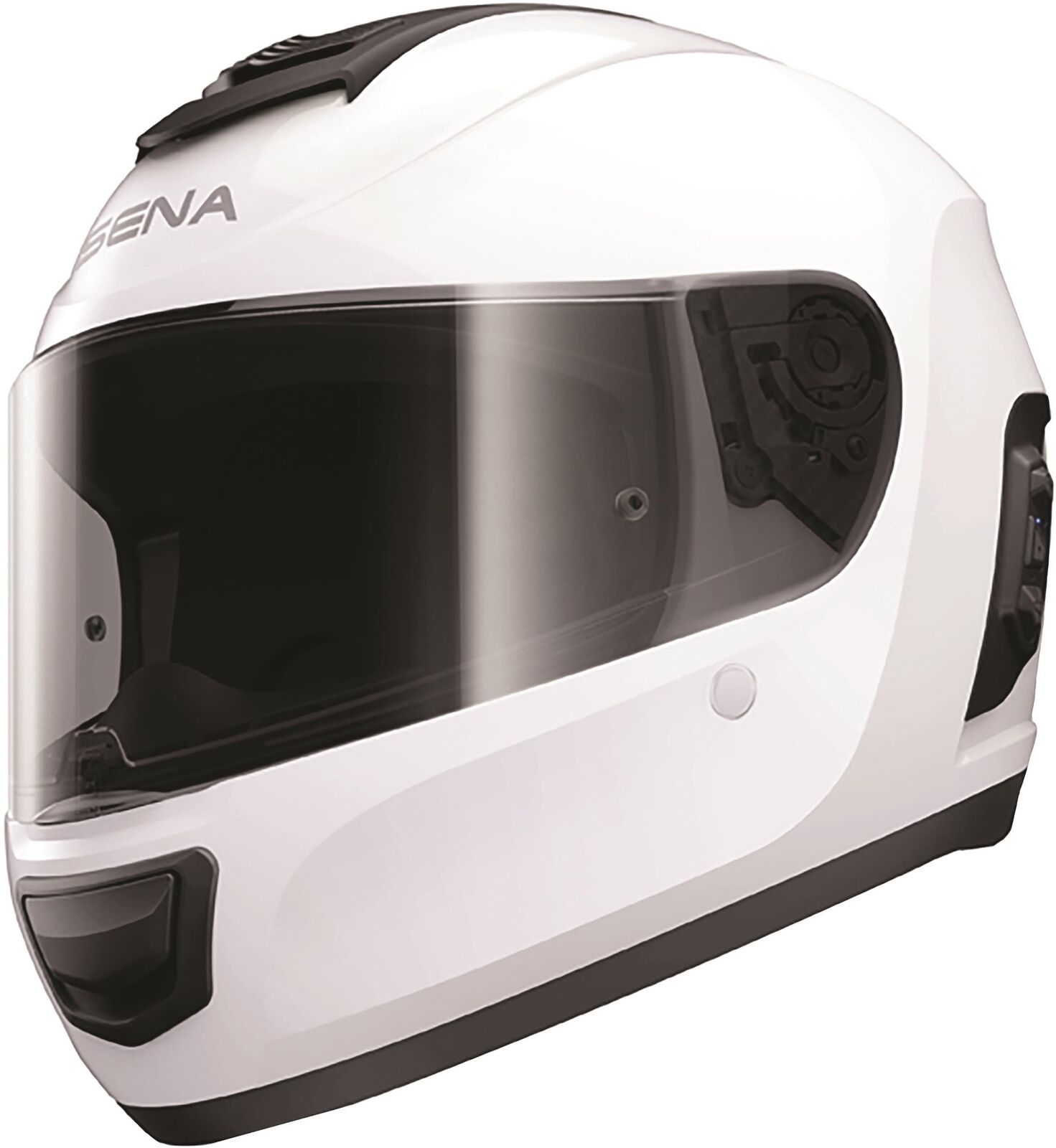 SENA Momentum Full Face Helmet White MO-STD-GW-L-01