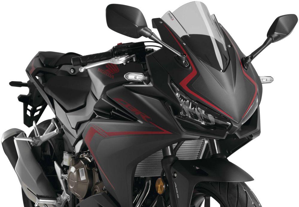 Puig Universal Windshield For Honda CBR500R 2019-2020 Z-Racing Smoke