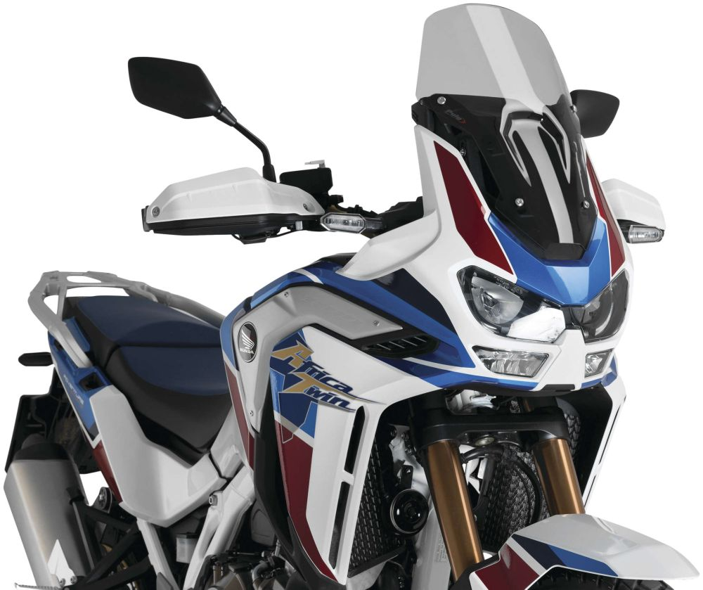 Puig Adventure Touring Windshield For Honda CRF1100L Africa Twin 2020 Smoke