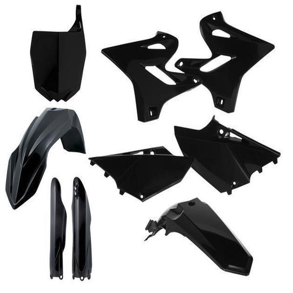Yamaha yz125 yz250 2015 2019 Acerbis Completo Kit Plástico Negro
